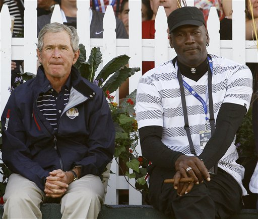 George W. Bush, Michael Jordan