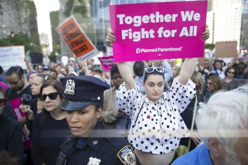 Abortion Protests New York