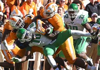 APTOPIX North Texas Tennessee Football