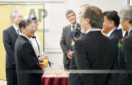 Japan's Imperial couple attends ceremony of IGARSS