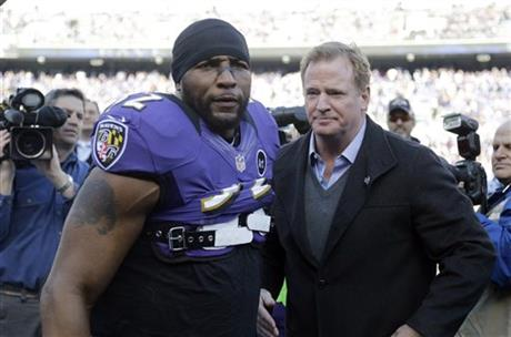 Ray Lewis, Roger Goodell