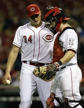Homer Bailey, Ryan Hanigan