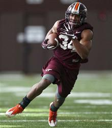 Virginia Tech McMillian Football