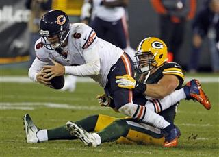 Clay Matthews  Jay Cutler