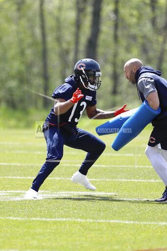 Chicago Bears OTA Football
