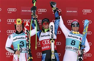 Ted Ligety, Marcel Hirscher,Davide Simoncelli