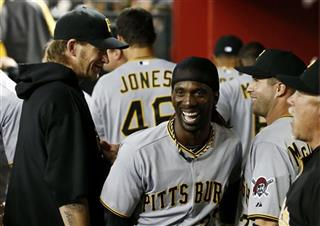 Andrew McCutchen, A.J. Burnett, John McDonald, Ray Searage