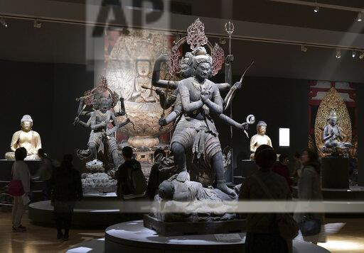 Treasures of esoteric Buddhism on show in Tokyo exhibition