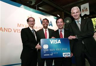 Earns Visa Inc