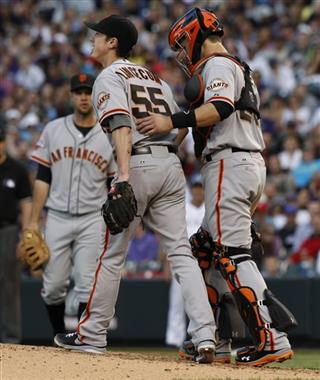 Buster Posey, Tim Lincecum