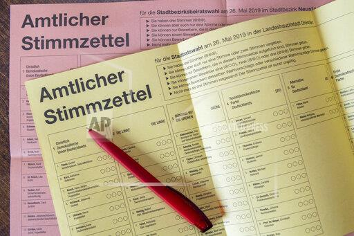 Local elections in Saxony