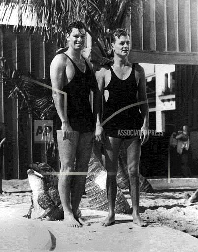 Associated Press Domestic News Florida United States Entertainment JOHNNIE WEISSMULLER BROTHER PETE