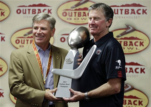 Steve Spurrier, Chuck Johnson