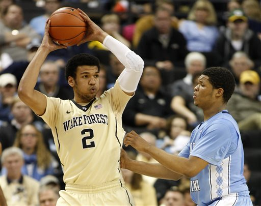 Devin Thomas Wake Forest basketball scouting report
