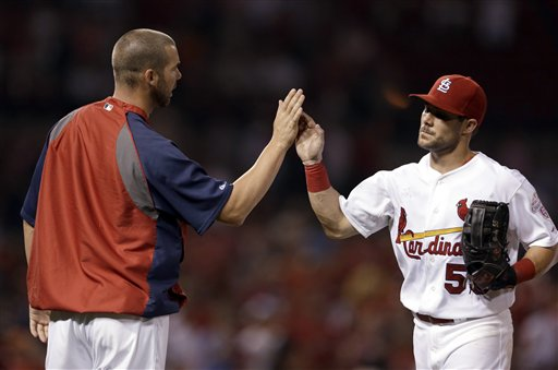Chris Carpenter, Skip Schumaker