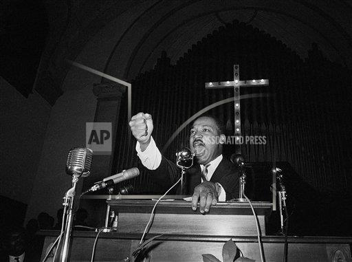 Watchf Associated Press Domestic News  Georgia United States APHS151581 Civil Rights MLK 1965