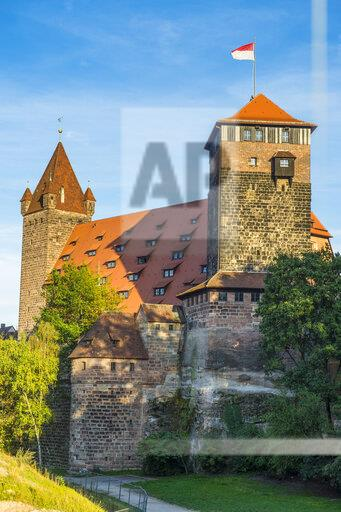 Germany, Nuremberg, Nuremberg Castle