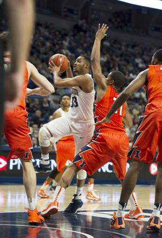 Illinois Penn St Basketball
