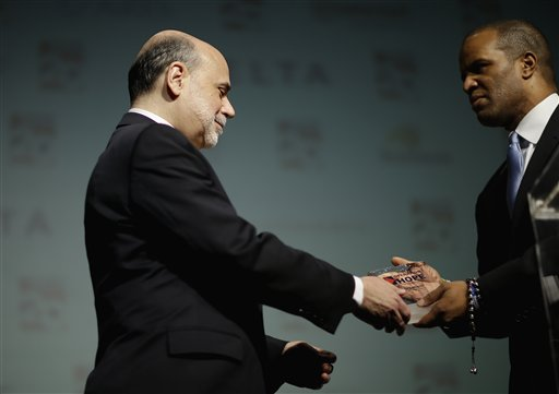 Ben Bernanke, John Hope Bryant