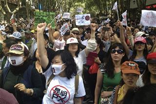 China Environment Protest