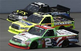NASCAR Michigan Trucks Auto Racing