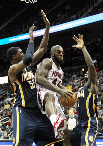 Ivan Johnson, Roy Hibbert, Lance Stephenson