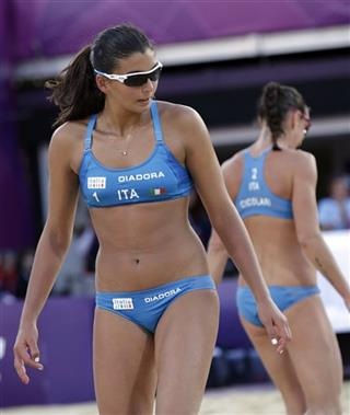 London Olympics Beach Volleyball Women