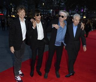 Mick Jagger, Ronnie Wood, Keith Richards, Charlie Watts