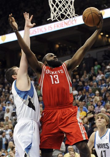 James Harden, Kevin Love