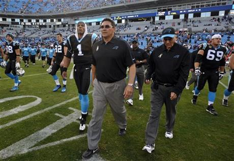 Ron Rivera, Cam Newton