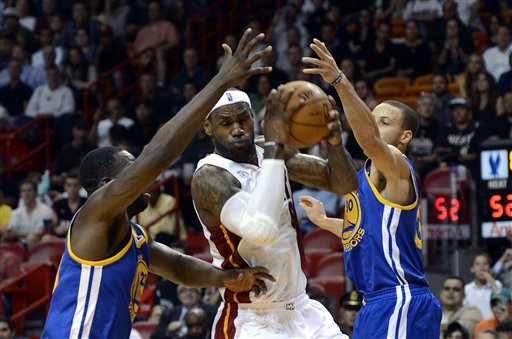 LeBron James, Draymond Green Stephen Curry