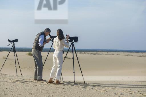 Spanish Royals Visit Doñana National Park