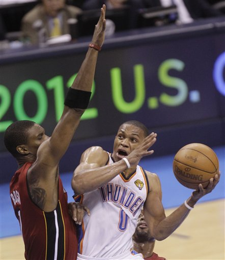 Chris Bosh, Russell Westbrook