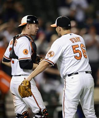 Matt Wieters, Darren O'Day