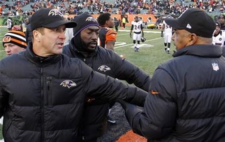 John Harbaugh, Marvin Lewis