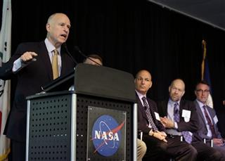 Jerry Brown, Waleed Abdalati, James E. Hansen, Dr. Anthony D. Barnosky, Banny Banerjee.