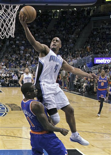 Arron Afflalo, Amar&#039;e Stoudemire