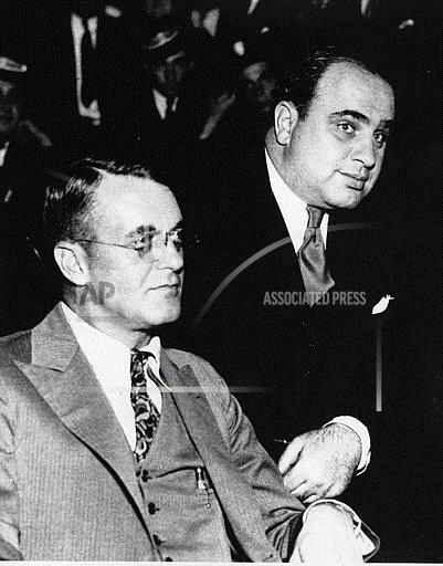 Associated Press Domestic News Illinois United States CAPONE CHARGED