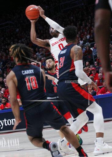 Univerity of Dayton Ohio Flyer vs DUQUESNE Dukes on Feb 22, 2020 . As the Flyers go on to win the game 80 to 70 at home In Dayton,Ohio.