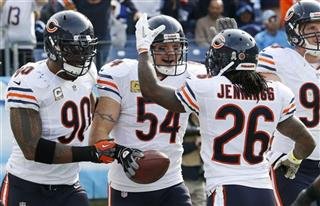 Brian Urlacher, Julius Peppers, Tim Jennings
