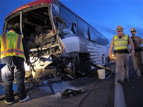 Charter Bus Crash