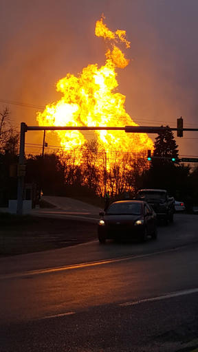 Natural Gas Explosion