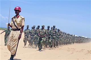 Somalia Military Training