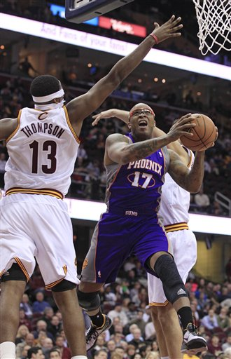 Tristan Thompson, P.J. Tucker