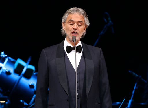 Andrea Bocelli In Concert New York Photo Gallery