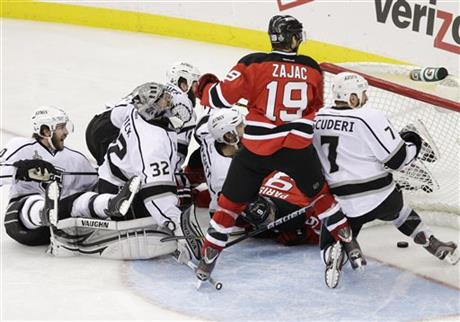 Travis Zajac, Jonathan Quick