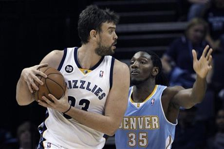Marc Gasol, Kenneth Faried