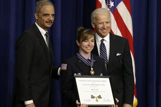 Joe Biden, Eric Holder, Hope Scott