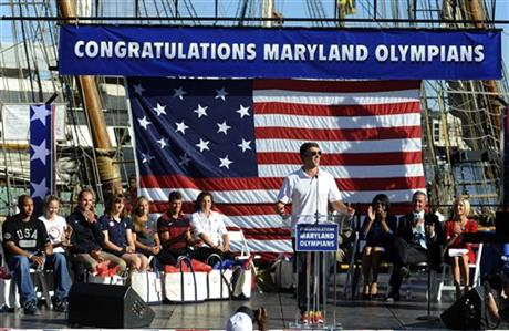 Michael Phelps, Martin O&#039;Malley