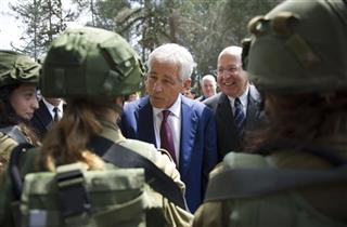 Chuck Hagel, Moshe Yaalon